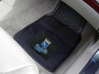 Kansas City Royals MLB Baseball Logo Car Floor Mats - Heavy-Duty Vinyl - 2 Piece Set #worldseries #baseball #mlb #royals #carmats