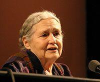 Doris Lessing, (doğum adıyla Doris May Tayler; d. 22 Ekim 1919, Kermanşah, İran - 17 Kasım 2013, Londra, İngiltere), Nobel Edebiyat Ödülü sahibi Britanyalı yazar.
