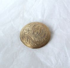 Items similar to Vintage DYNASTY Brooch Pin Gold Vermeil Sterling silver Etched on Etsy Vintage Brooches, Vintage Earrings, Vintage Jewelry, Floral Motif, Vintage Gifts, Mother Day Gifts, Brooch Pin, Gold Jewelry, Sterling Silver