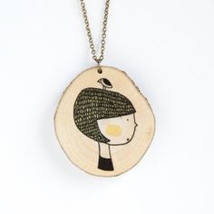 This necklace just makes us smile.