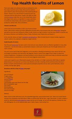 lemon-benefits-17784957 by Cody Bosh via Slideshare