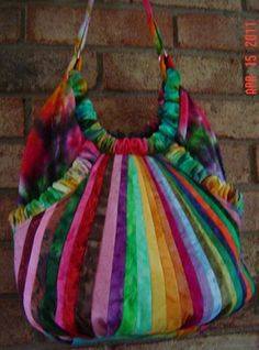 Here's a colorful DittyRoo, fashioned by Jan Wojcik of Krakow, W  June 2011 Handbag of the Month Contest | Studio Kat Designs