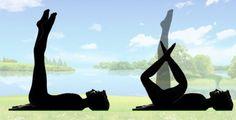 Jak zpevnit stehna i břicho? Jednoduché cvičení na doma 5 minut před spaním, které zaručuje výsledky! – eJak.cz Yoga Fitness, Health Fitness, Tracy Anderson, Pilates, Challenges, Exercise, Horses, Workout, Sports