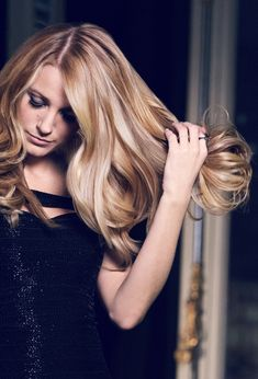 Blake Lively blonde is our kind of blonde. Find your luminous hair color with Superior Preference. Shown: Golden Iridescent Blonde.