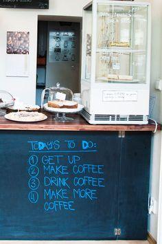 Best Coffee in Prague? The TricaféTheri's Wardrobe