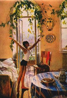Татьяна Яблонская. Утро