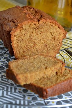 "It's Wednesday, what if we cook a good snack with the kids? I renamed the ""four-quarter"" found at Yolande because I changed the quantities of the ingredients given and that suddenly, well it was no longer a It was nevertheless delicious, … Cookie Desserts, Easy Desserts, Cookie Recipes, Dessert Recipes, Nutella Recipes, Homemade Cake Recipes, Tart Recipes, Vanilla Mug Cakes, Cake Recipes From Scratch"