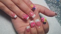 La Flor by nailsbykaesi - Nail Art Gallery nailartgallery.nailsmag.com by Nails Magazine www.nailsmag.com #nailart  #Acrylic #nails #boise #nampa #CALDWELL #meridian #Kuna #IDAHO #EZFLOW #nailtech #Acrylicnails #nailartist #nailpro