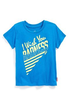 PREFRESH+'I+Wish+You+Radness'+T-Shirt+(Toddler+Boys+&+Little+Boys)+available+at+#Nordstrom