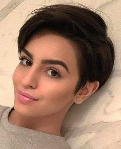 Trending Hairstyles 2019 Short Pixie Hairstyles EveSteps is part of Pixie hairstyles - Pixie hairstyles are modern hairstyles and many women no matter what their age are keeping their hair short Short hair is not enough for any woman, Prom Hairstyles For Short Hair, Short Pixie Haircuts, Undercut Hairstyles, Trending Hairstyles, Short Hair Cuts, Modern Hairstyles, Style Short Hair Pixie, Pixie Haircut Thin Hair, 1800s Hairstyles