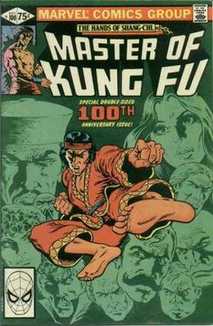 Master of Kung Fu #100 - Shang Chi was one of, if not the first, Chinese superhero - and he got over a hundred issues. Go Marvel.