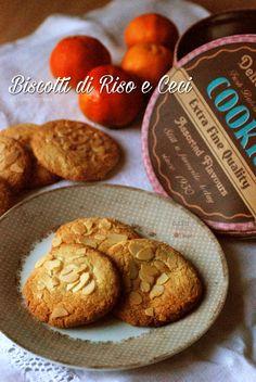 Biscotti di ceci, mandorle e farina di riso