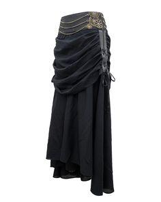 The Violet Vixen - Nightwalker Steampunk Black Skirt, $135.00 (http://thevioletvixen.com/clothing/nightwalker-steampunk-black-skirt/)