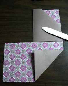Joy in a JAR: Double Pocket Card Tutorial - really like this one.