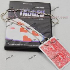 >> Click to Buy << Tagged Necklace Knot Find Card box packing with DVD magic trick magic prop close up magic #Affiliate