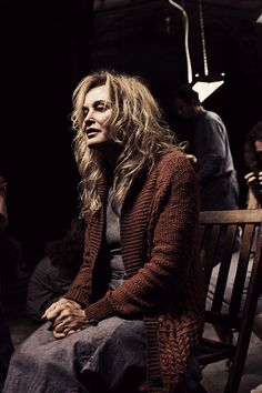 """Jessica Lange in """"American Horror Story - Asylum"""" - stellar performance, truly amazing. I LOVE her. Talent doesn't age."""
