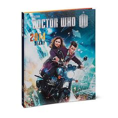 Doctor Who 2014 Day Planner Diary Journal Calendar Hardcover Book Matt Smith