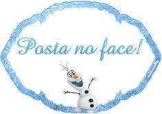 Montando minha festa: Plaquinhas divertidas Frozen
