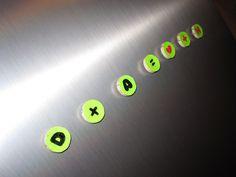 DIY magnets for the fridge