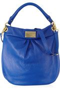 MARC BY MARC JACOBS Classic Q Hillier Hobo textured-leather shoulder bag