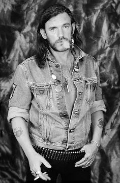 Lemmy Kilmister of Motorhead poses for a portrait at L'Amour on October 29, 1992 in the Brooklyn borough of New York City.