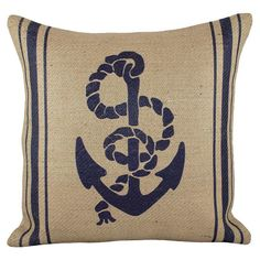 TheWatsonShop Anchor Pillow