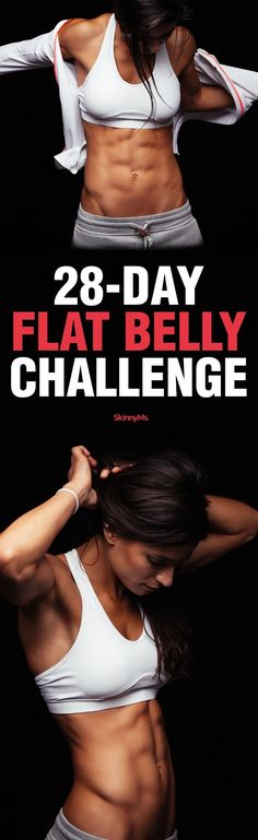 New Month, New Challenge! #SkinnyMs #FlatBelly #28dayChallenge