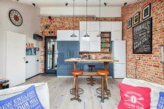 кухни в стиле лофт: 25 тыс изображений найдено в Яндекс.Картинках