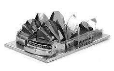 Metal Earth Sydney Opera House 3D Laser Cut Model Fascinations 010534