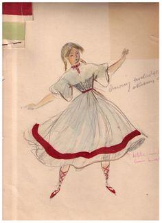Jan Marcin Szancer various costume designs inspired by renaissance fashion of szlachta (Polish nobility), and by Polish folk costumes. Legends And Myths, Penguin Random House, Doll Maker, Fantasy Inspiration, Vintage Illustrations, Krakow, Storyboard, Folklore, Pagan