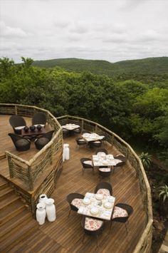 Photographic safari, team building photo safari and wildlife photography course accommodation Phinda Mountain Lodge, South Africa.