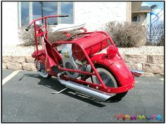 cushman scooters | 1953 Cushman Airborn Scooter for sale: Anamera