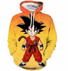 Dragon Ball Z Kid Goku Hoodie – Otakupicks