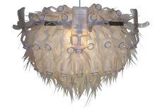 Chandelier (droomluchter) 'Schorum' made by Heleen van Zantvoort Lamp Design, Lamp Light, Reuse, Recycling, Chandelier, Plastic, Ceiling Lights, Lighting, Milk Jugs