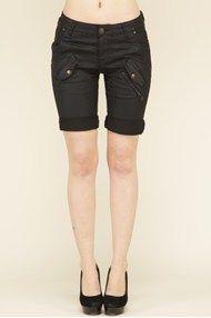 Pulz shorts Fay black