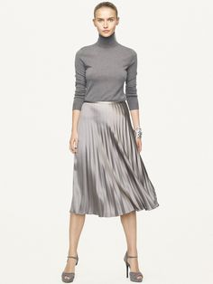 Silk Charmeuse Edwina Skirt - Sale  Skirts - RalphLauren.com