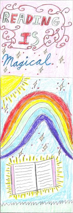 """""""Reading Is Magical"""" by Lilia 