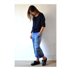 pantalon d'ouvrier vintage n°1 -vdj