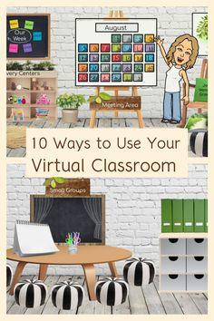 First Grade Classroom, Kindergarten Classroom, Classroom Activities, Classroom Organization, Classroom Ideas, Camping Activities, School Classroom, Classroom Background, Teaching Technology