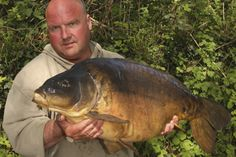 Having located the carp on a huge pit, Jim bagged this stunning 28lb mirror just half an hour after casting out.