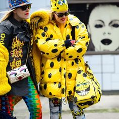 """#Le21eme x #AdamKatzSinding •  www.Le21eme.com •  @BeckermanBlog #BeckermanTwins #CaillianneBecmerman #SamanthaBeckerman #London #FW15 #FashionWeek #LFW…"""