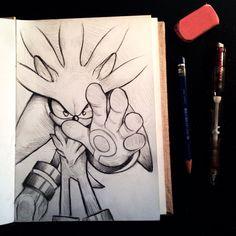 Silver Sketch by RhythmAx.deviantart.com on @deviantART