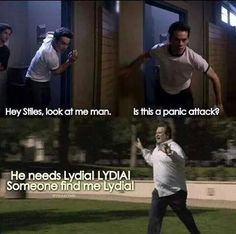 This truth about one sure way to stop Stiles from having a panic attack: