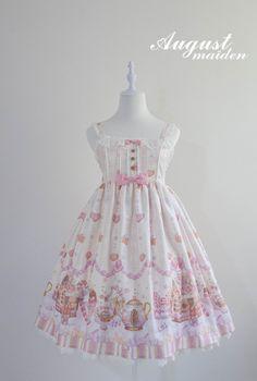 Ginger Cookie House Sweet Lolita Jumper Dress