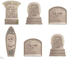 Printable Haunted Mansion tombstone templates - Boing Boing