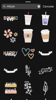 GIFS fofos - Stories (Inspiração história) - Sie sind an der richtigen Stelle für decorative boxes Hier bieten wir Ihnen die schönsten Bilde - Instagram Blog, Instagram Editing Apps, Instagram Emoji, Iphone Instagram, Instagram Frame, Instagram And Snapchat, Instagram Story Ideas, Snapchat Posts, Best Friends Instagram Captions