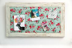 upcycle old window frame