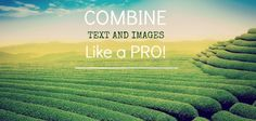 Combine text and images like a pro