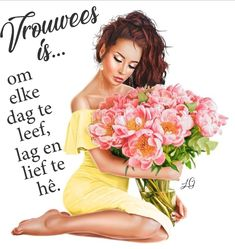 Afrikaans Quotes, Ladies Day, Woman Quotes, Inspiration, Biblical Inspiration, Lady Quotes, Wife Quotes, Inhalation