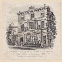 Colbran pubished one of the early newspaper from here and the building later became Golden & Curry's bookshop stationers and newsagents until the when it closed. It is now a Cath Kidson's Tunbridge Wells, Regency Era, New Room, Old Photos, Notre Dame, Castle, Wellness, Street, Newspaper